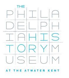 The Philadelphia History Museum typography