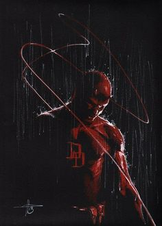 So glad there's going to be a Daredevil Netflix series. He's one of my favorites.