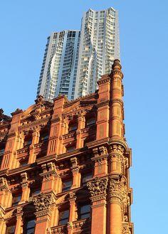 NYC - Financial District - Park Row / Beekman Street -  Beekman Tower  // by bardazzi luca