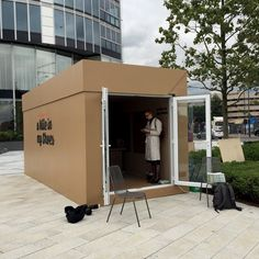 We supplied a shipping container to Thames Festival Trust for the A Mile In My Shoes Exhibition. Read our case study.