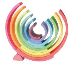 Wooden Rainbow Toy Xtra Large