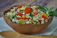 Salada de Cuscuz Marroquino com Hortelã