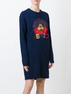 Kenzo 'Tanami' sweater dress