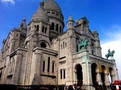 Montmartre! Mi iglesia preferida: sacre cœur!