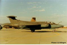 The South African Air Force. Blackburn Buccaneer 416 in 1991.