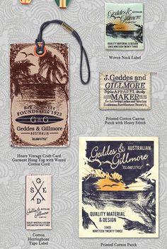 Gold Coast - Menswear  Fashion Branding & Graphics by Richard Schonegevel, via Behance