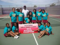 Read about the Natomas High School girls' tennis team Division 8 win Saturday, Sept. 8 following a two-day tournament in Fresno at http://natomasbuzz.com