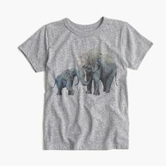 Garments for Good: This special T-shirt was designed by London-based illustrator Marcel George in support of The David Sheldrick Wildlife Trust. Founded in 1977, this Kenyan charity rescues and protects orphaned elephants and rhinos in East Africa from ivory poaching and extinction (to date, they've successfully rescued, hand raised and rehabilitated 190 elephant orphans). Fifty percent of the retail price from the sale of this T-shirt will be donated to the Trust. <a…