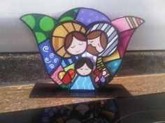 See related links to what you are looking for. Christmas Rock, Christmas Nativity, Christmas Crafts, Merry Christmas, Christmas Decorations, Acrylic Paint On Wood, Painting On Wood, Nativity Painting, Advent