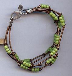 Lisa's Creations: African Trade Bead Bracelet