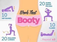 Mini Booty Workout Ready In Less Than 5 Minutes