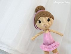 Amigurumi Ballerina Doll pattern by Amigurumi Today