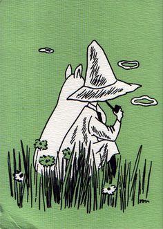 Nice Moomin drawing, via fuckyeahmoomins.