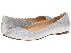 Betsey Johnson Dance Silver Fabric/Glitter - Zappos.com Free Shipping BOTH Ways $79.00