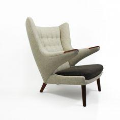 Hans J. Wegner | Papabear chair | Galleri Feldt - Danish Modern |