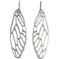 cicada wing earrings ~ for Lucky Brand