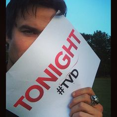 Ian Somerhalder - 02/10/14 - THE VAMPIRE DIARIES IS ON THE AIR IN ONE HOUR! Come watch it with me;) http://instagram.com/p/tqwtojKJ4n/ - Twitter / Instagram Pictures