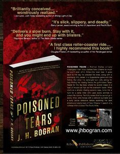 """Great plot, colorful descriptions of NOLA and well-drawn characters."" Poisoned Tears by @JHBogran @RebelePublisher @TheRealBookSpy @TopShelfPub https://www.amazon.com/Poisoned-Tears-J-H-Bográn/dp/1944077197 …"