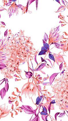 ideas for flowers purple wallpaper floral design Cute Backgrounds, Phone Backgrounds, Cute Wallpapers, Wallpaper Backgrounds, Wallpaper Desktop, Floral Wallpapers, Iphone Wallpapers, Screen Wallpaper, Cool Wallpaper