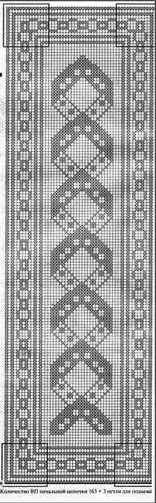 This Pin was discovered by Val Crochet Table Runner, Crochet Tablecloth, Crochet Doilies, Crochet Needles, Thread Crochet, Doily Patterns, Filet Crochet Charts, Crochet Bedspread, Doilies