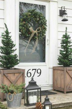 Winter porch ideas