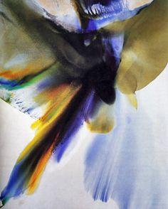 "Paul Jenkins, ""Phenomena Mistral Veil"", 1970."