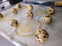 Cookies healthy aux flocons d'avoine - Les Gourmandises de Steph Cookies Healthy, Biscuits, Cereal, Breakfast, Desserts, Food, Sweet Recipes, Cooking Recipes, Flakes