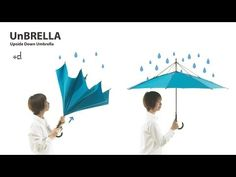 When was the last time there was a groundbreaking innovation in umbrella design? Exactly. Japanese product design firm H Concept has unveile...