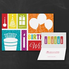 Fun Birthday Business Greeting Cards http://partyblockinvitations.occasions-sa.com/Stationery--Business-Greetings/Birthday-Cards/YM-YM36519FC-Fun-Birthday.pro