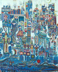 Pintura. Widad al-Orfali.