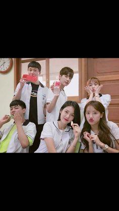 Drama Korea, Korean Drama, Korean Idols, Teen Web, Teen Images, Age Of Youth, School Uniform Fashion, Web Drama, Kdrama Actors