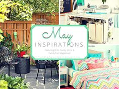 I can't believe it's already May! At least the weather is getting warmer. I am so sick of t...