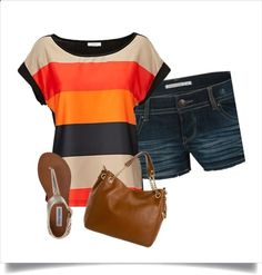 Late Sumer by kelleybaxley on Polyvore... My first polyvore experience!!