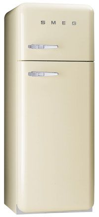 Smeg FAB30QP 50s Retro Style Fridge Freezer - Cream