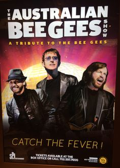 BEE GEES TRIBUTE...THE AUSTRALIAN BEE GEES @ EXCALIBUR