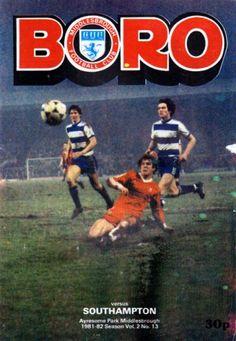 Middlesbrough vs Southampton 1982