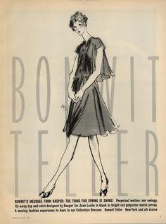 KENNETH PAUL BLOCK Bonwit Teller Ad Campaign Spring/Summer 1974