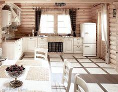 Aranżacja kuchni w rustykalnym stylu - Architektura, wnętrza, technologia, design - HomeSquare