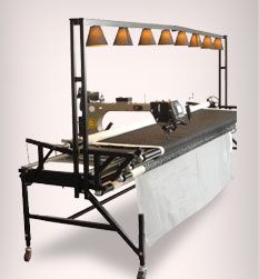 My Gammill Long Arm Quilting Machine | The Fanatic Quilter ... : long arm quilting frames - Adamdwight.com