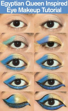 Egyptian Queen Inspired Eye Makeup Tutorial – With Detailed Steps & Pictures