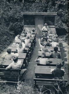 A forgotten age of Open-Air Schools in the Netherlands, 1957