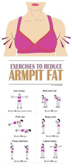 9 Simple Exercises to Get Rid of Armpit Fat.