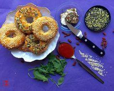 Low Carb Bagels - ZoiZone Low Carb Bagels, Doughnut, Bread, Desserts, Food, Tailgate Desserts, Deserts, Brot, Essen