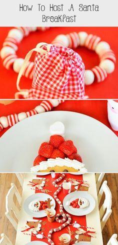 How to Host a Santa Breakfast Santa Breakfast, Christmas Breakfast, Cozy Christmas, Christmas Countdown, Reindeer Food, Santa And Reindeer, Santa Pancakes, Christmas Party Activities, New Years Traditions