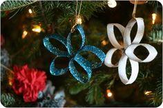 15 tipů na vánoční dekorace z ruliček od toaletního papíru |