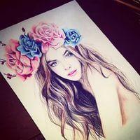 рисунки для срисовки легкие для девочек 12 лет: 13 тыс изображений найдено в Яндекс.Картинках