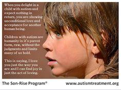 Vencer Autismo: Amor incondicional