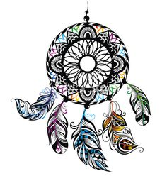 Indian+dream+catcher+vector+2298182+-+by+galina on VectorStock®
