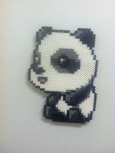 Maplestory Panda - Perler Art by Brentimous.deviantart.com on @deviantART