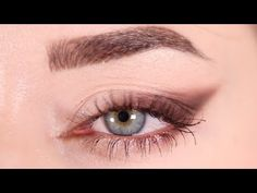 (550) Smoked Eyeliner For Hooded Eyes - YouTube Smoked Eyeliner, Brown Eyeliner, Eyeshadow For Hooded Eyes, Beauty Tips, Beauty Hacks, Brown Shades, Hoods, Skin Care, Makeup